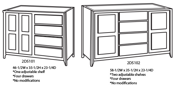Shaker Style Kitchen Islands Unfinished Cabinetry Online