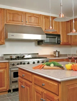 Kitchen Cabinet Finishing and Painting
